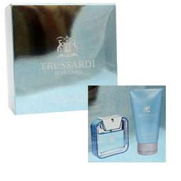 Trussardi Blue Land komplet (50 ml EDT & 100 ml SG)