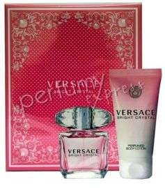 Versace Bright Crystal komplet (30 ml EDT & 50 ml BL)