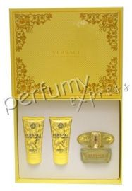 Versace Yellow Diamond komplet (50 ml EDT & 50 ml BL & 50 ml SG)