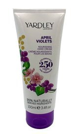 Yardley London April Violets Fiołek krem do rąk 100 ml edycja 2015