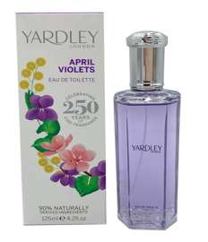 Yardley London April Violets Fiołek woda toaletowa 125 ml edition 2015