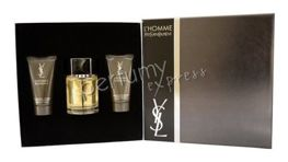Yves Saint Laurent L'Homme komplet (100 ml EDT & 50 ml ASB & 50 ml SG)