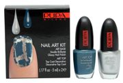 Pupa Nail Art Kit zestaw do manicure 920 Silver & Grey Blue 2 x 5 ml
