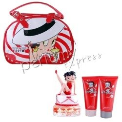 Betty Boop Sexy Betty komplet (75 ml EDP & 100 ml BL & 100 ml SG & torebka)