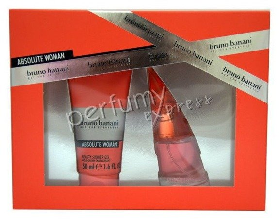Bruno Banani Absolute Woman komplet (20 ml EDT & 50 ml SG)