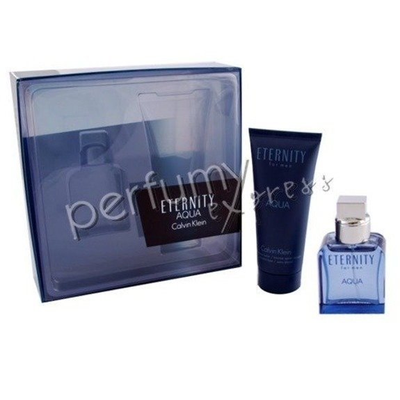 Calvin Klein Eternity for Men Aqua komplet (30 ml EDT & 100 ml ASB)