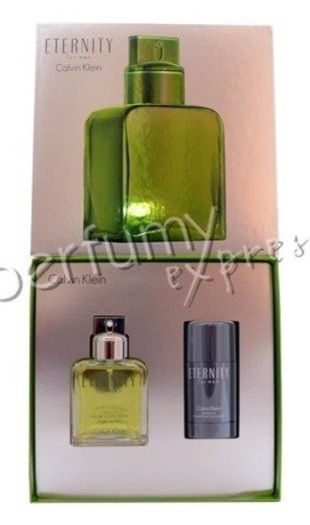 Calvin Klein Eternity for Men komplet (100 ml EDT & 75 ml DEO STICK)
