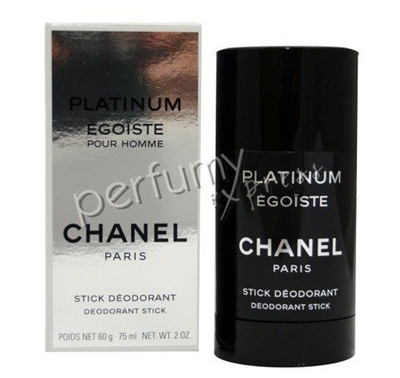 Chanel Egoiste Platinum dezodorant stick 75 ml