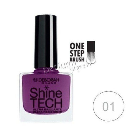 Deborah Lakier do paznokci Shine-Tech 8,5 ml, nr 01