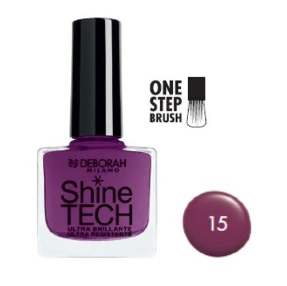Deborah Lakier do paznokci Shine-Tech 8,5 ml, nr 15