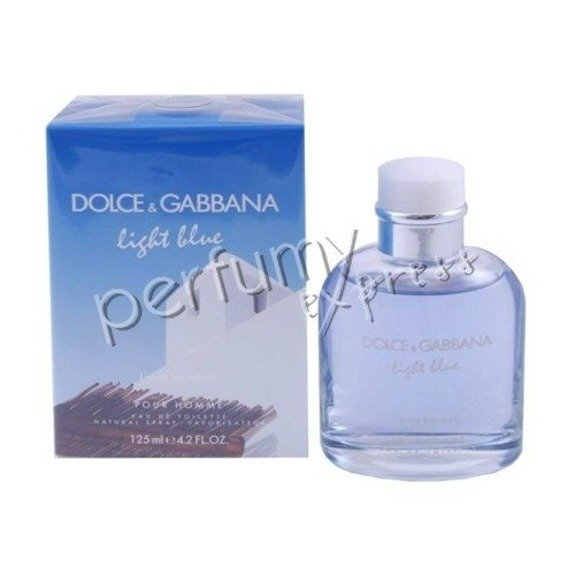 Dolce & Gabbana Light Blue Living Stromboli pour Homme woda toaletowa 125 ml