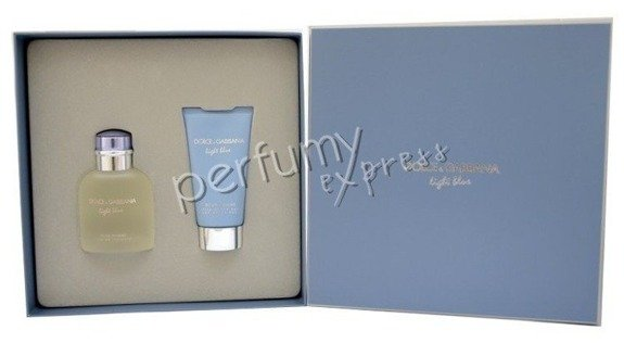 Dolce & Gabbana Light Blue pour Homme komplet (75 ml EDT & 75 ml ASB)