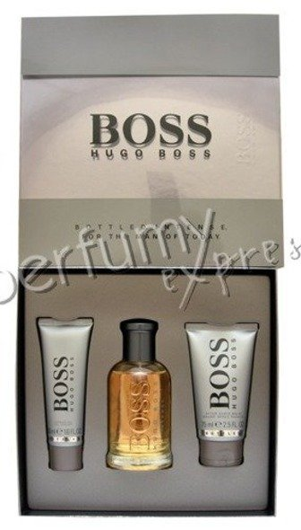 Hugo Boss Bottled Intense komplet (100 ml EDT & 75 ml ASB & 50 ml SG)
