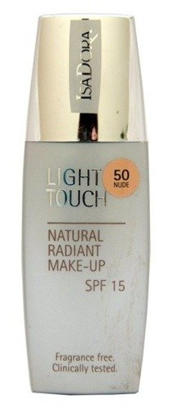IsaDora Light Touch Natural Radiant Make-up podkład rozświetlający 50 Nude 35 ml