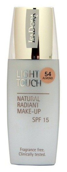 IsaDora Light Touch Natural Radiant Make-up podkład rozświetlający 54 Almond 35 ml