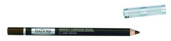 IsaDora Perfect Contour Kajal konturówka do powiek 61 Dark Brown 1,2g