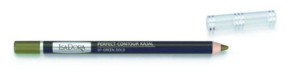 IsaDora Perfect Contour Kajal konturówka do powiek 97 Green Gold 1,2g