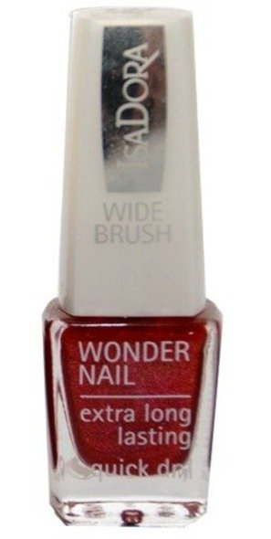 IsaDora Wonder Nail supertrwały lakier do paznokci 727 Merry Red 6 ml