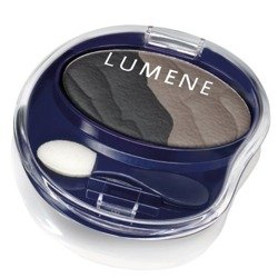 Lumene Blueberry Long-Wear Duo Eyeshadow, Cienie do Powiek Podwójne 7 Snow Cliffs