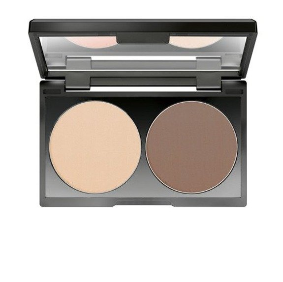Make up Factory Duo Contouring Cream paleta do konturowania twarzy w kremie 16 Rosy Brown 2 x 3 g