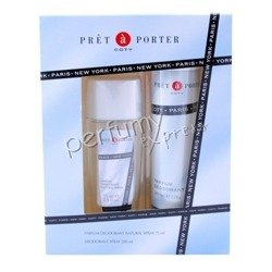 Pret a Porter Classic komplet (75 ml Deo Atomizer & 200 ml Deo Spray)