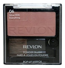 Revlon Powder Blush Róż na policzki z wysuwanym lusterkiem 06 Wine With Everything 5,1g