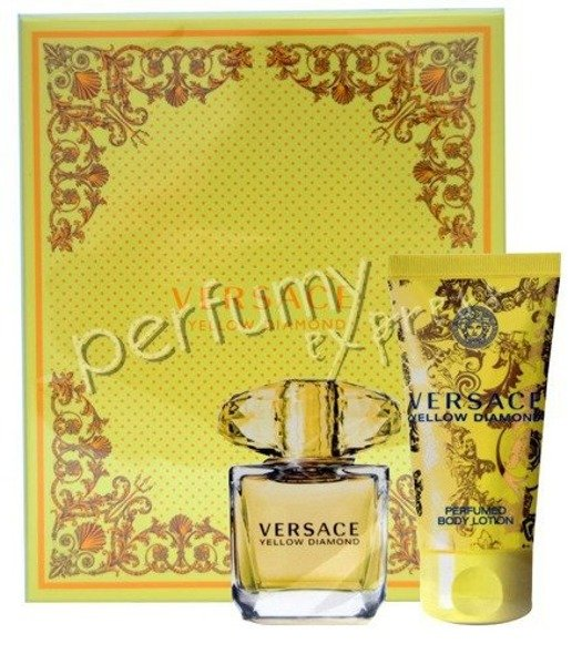 Versace Yellow Diamond komplet (30 ml EDT & 50 ml BL)